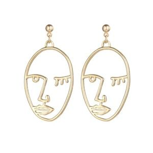 Jewelry - NEW fashion face earrings